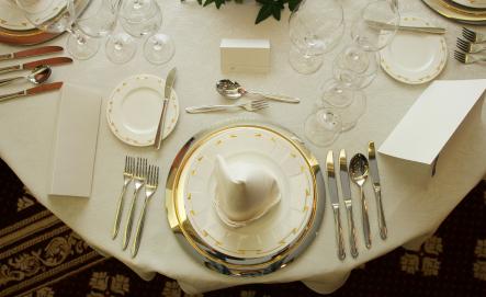 Dressage D Une Table De Restaurant